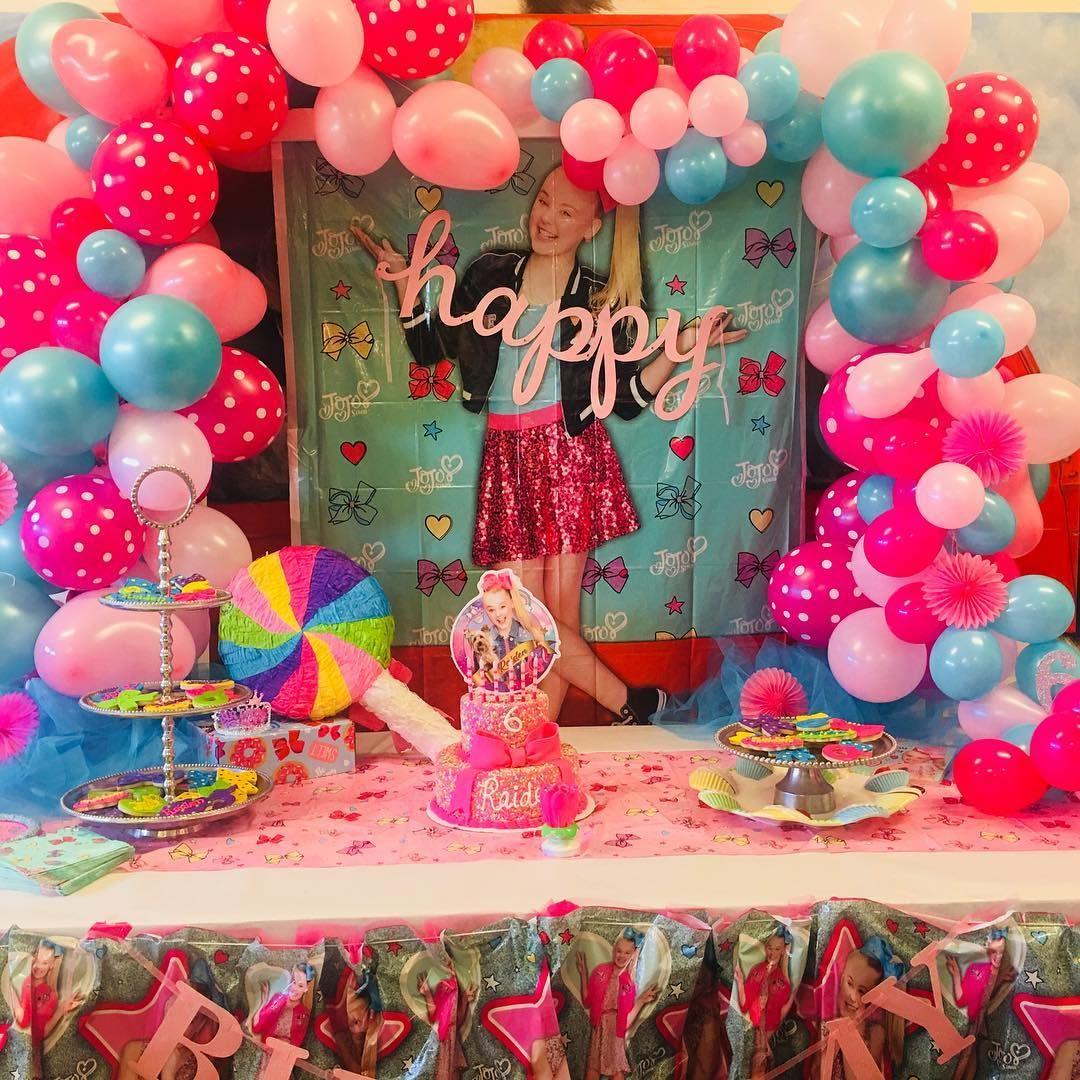 Jojo Siwa Birthday Party Ideas Madi S 7th Birthday In 2019 Jojo