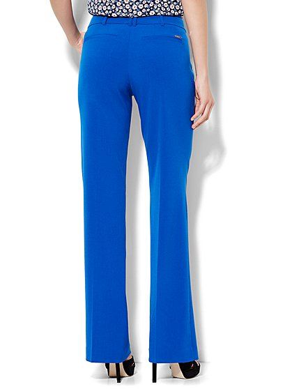 7th Avenue Design Studio Pant Signature Universal Fit Bootcut Double Stretch New York Company Pants For Women Womens Suits Business Pants