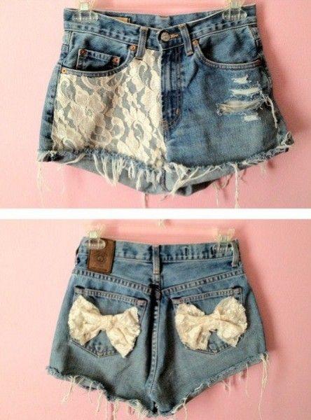 7c770991a Faça você mesmo - Dicas e ideias de shorts customizados