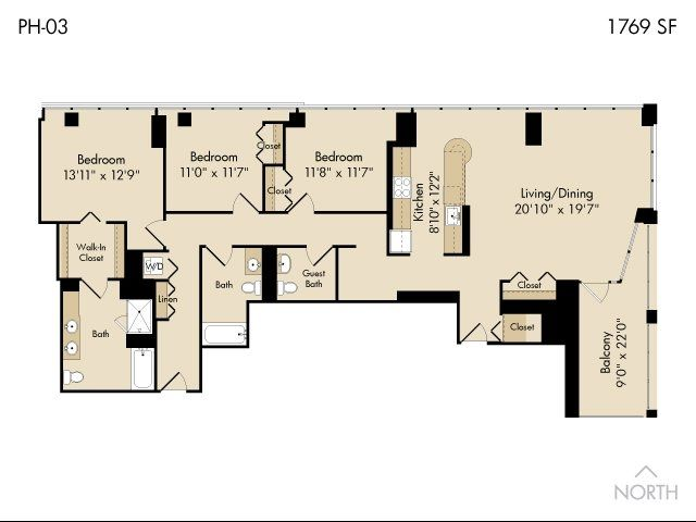 215 west apartmentschicago  gallery  the loop  3