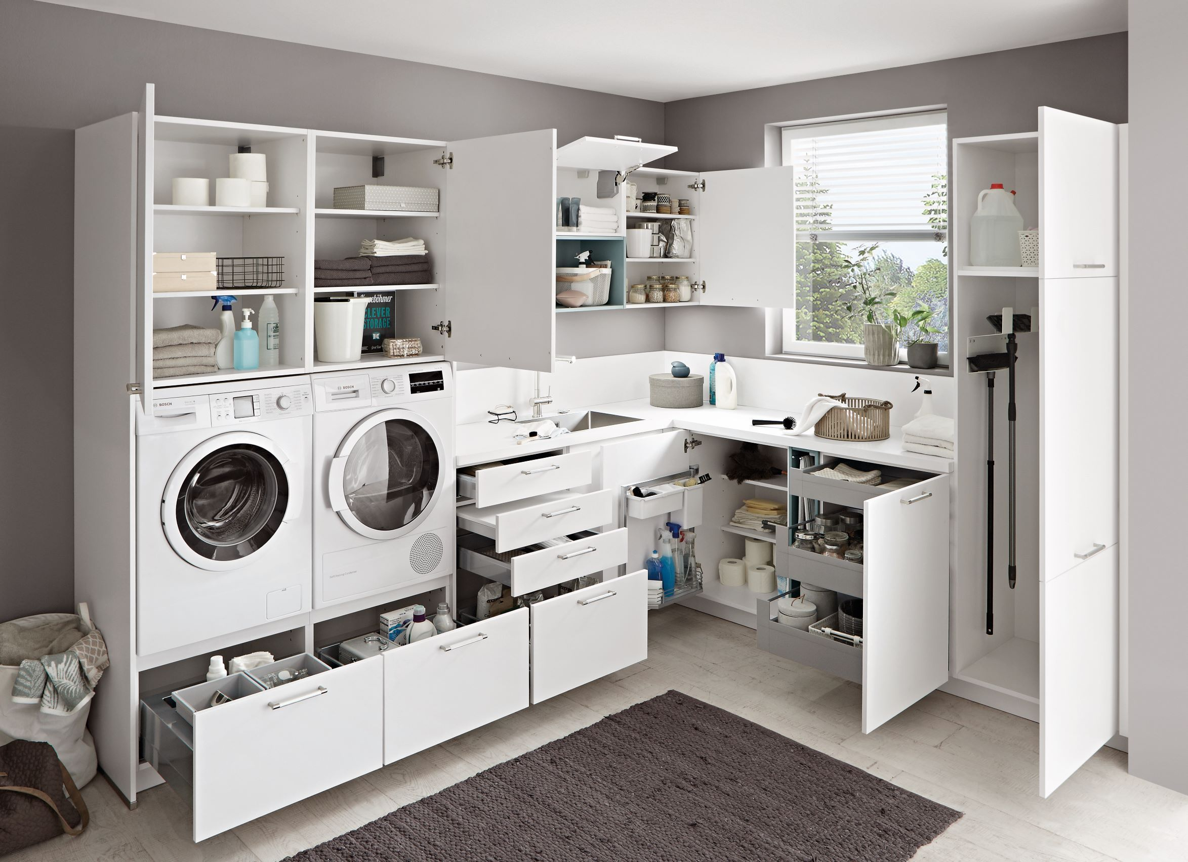 Home image by Nihdya Sidat  Laundry room layouts, Laundry room