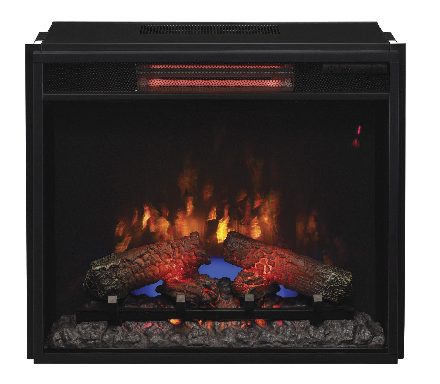 Classic flame 23 inch infrared electric fireplace insert spectrafire classicflame electric fireplace insert with safer plug final call for this special discount home decor fireplaces accessories teraionfo