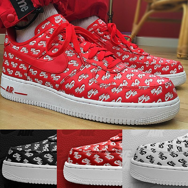 9b1d739ff3b9 Original New Arrival Authentic Nike Air Force 1 AF1 Logo Men s Air Force  One Skateboard Sneakers