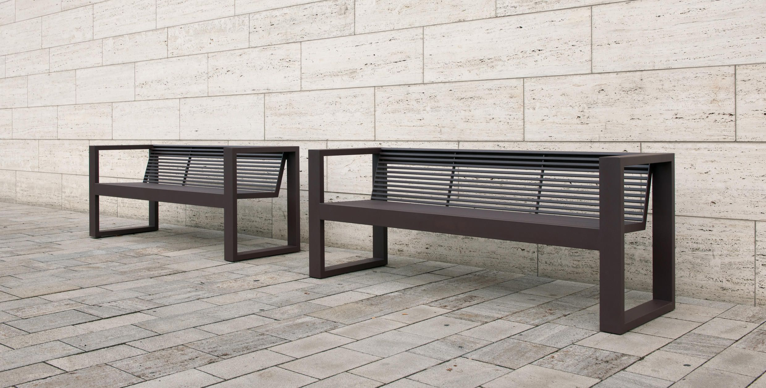Sicorum M 300 Bench with armrests by BENKERT-BAENKE | Garden ...