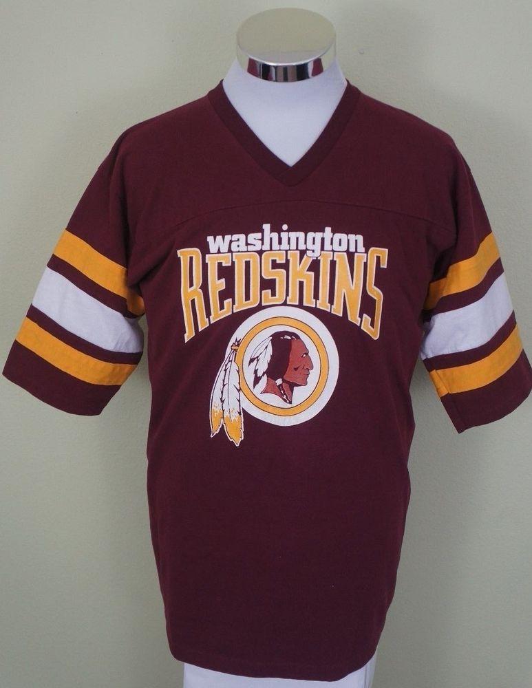 497f6451 Vintage Washington Redskins Logo 7 Inc Shirt Men's XL USA #Logo7 ...