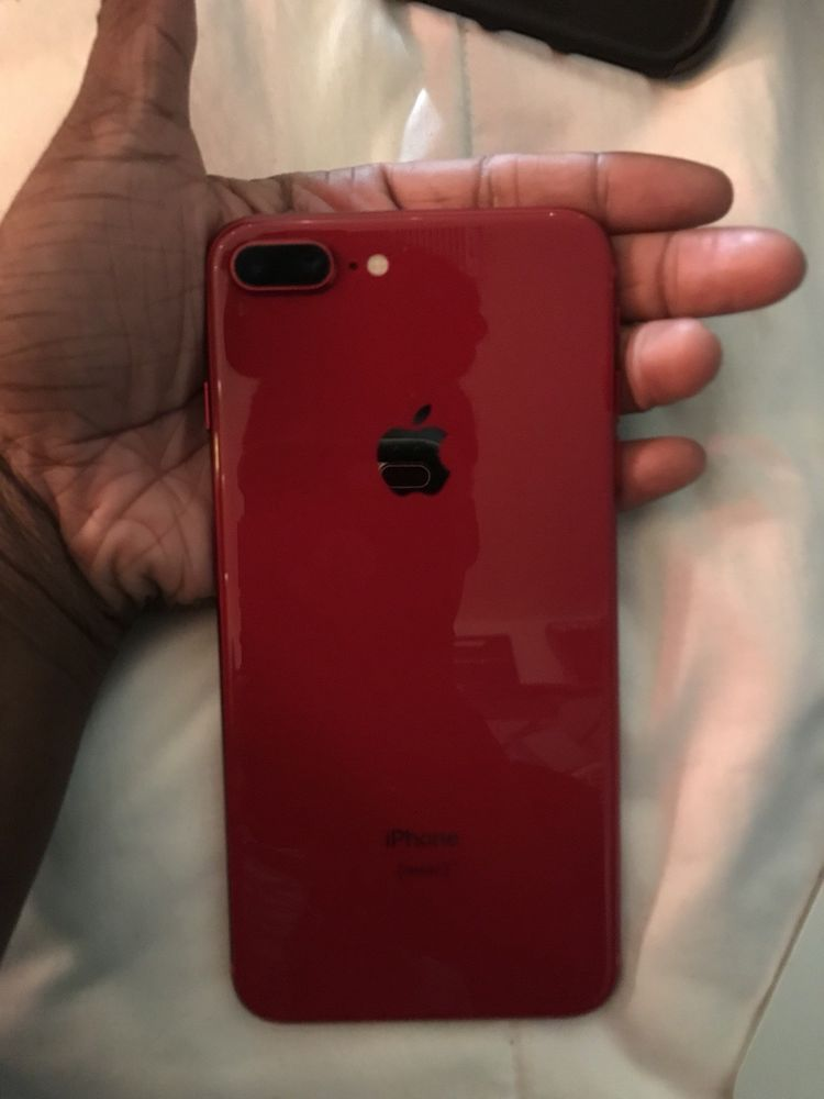 Red Iphone 8 Plus Apple Iphone Accessories Iphone Apple Smartphone