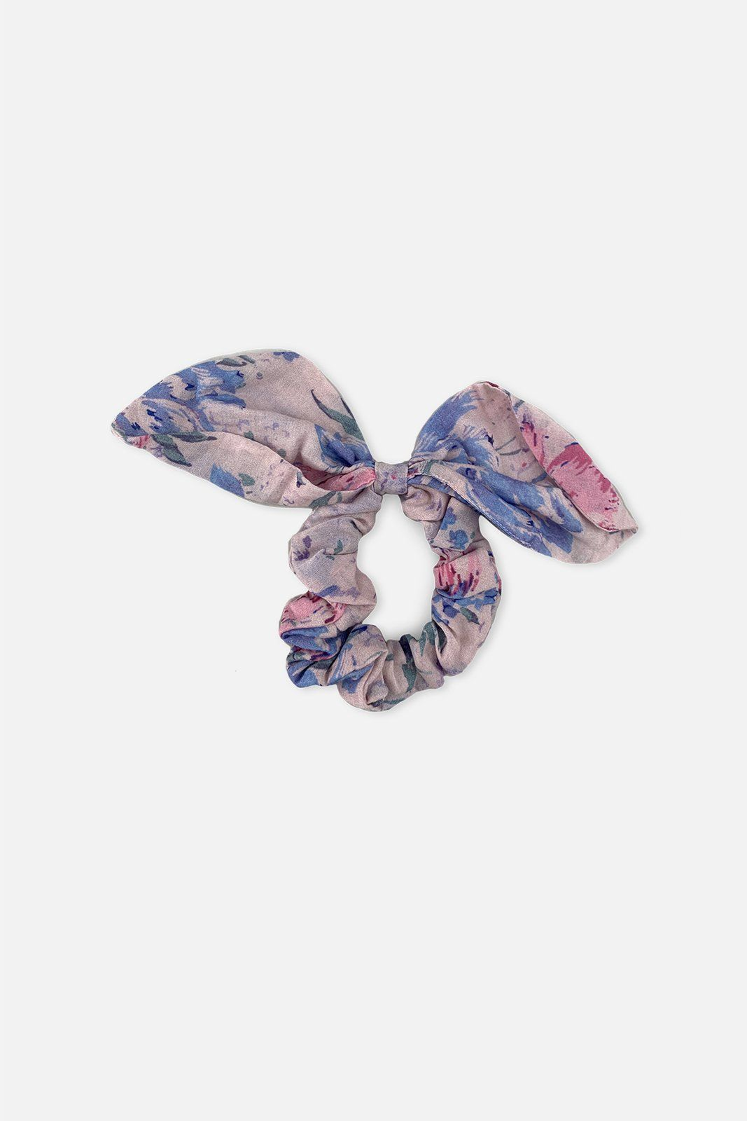 Printed Elasticized One size | Bandier X Loveshackfancy Barefoot In The Sand Scrunchies