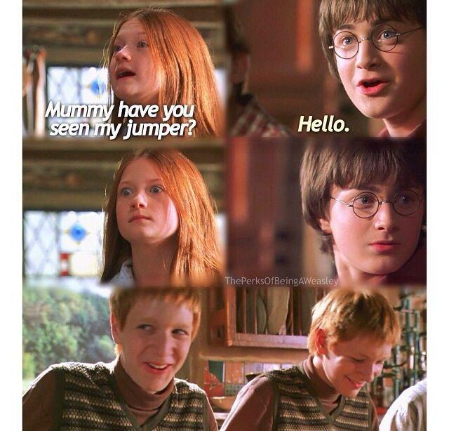 Ginny S Face Memes De Harry Potter Fotos De Harry Potter Peliculas De Harry Potter