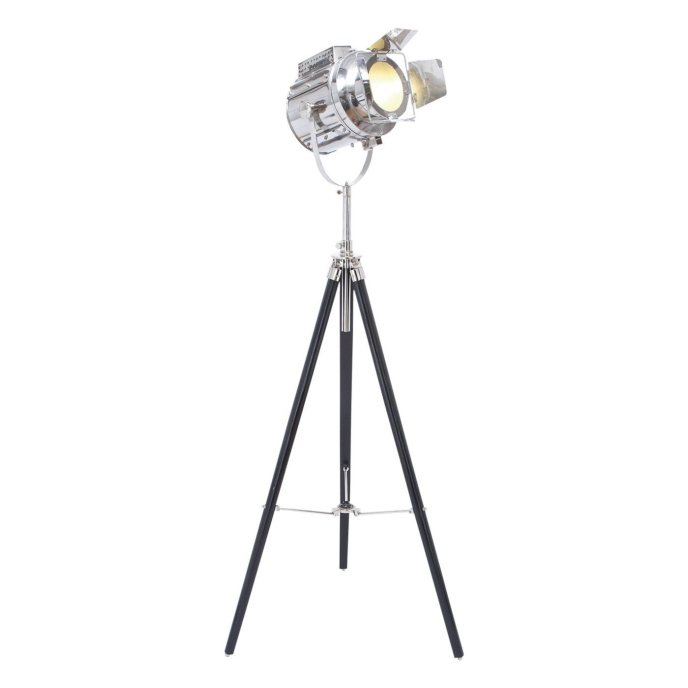 Woodland Imports 4668 Wood Tripod Spot Light Floor Lamp   Loweu0027s Canada