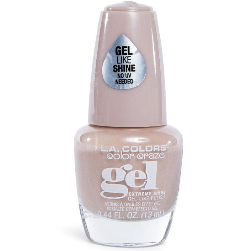 L.a. colors® color craze vanilla latte gel nail polish