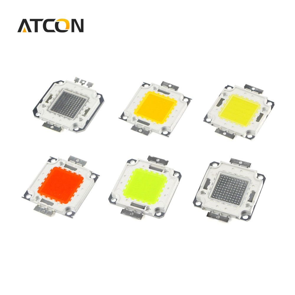 10W 20W 30W 50W 100W High Power Integrated LED lamp Chips SMD Bulb ...