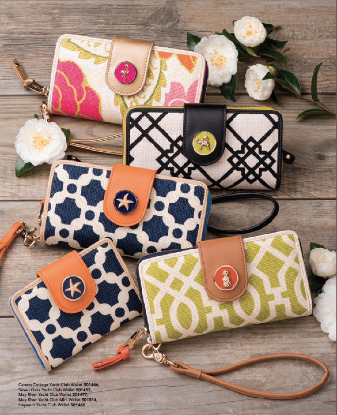 5f50736c6e59 Spartina 449 - Carson Cottage Yacht Club Wallet
