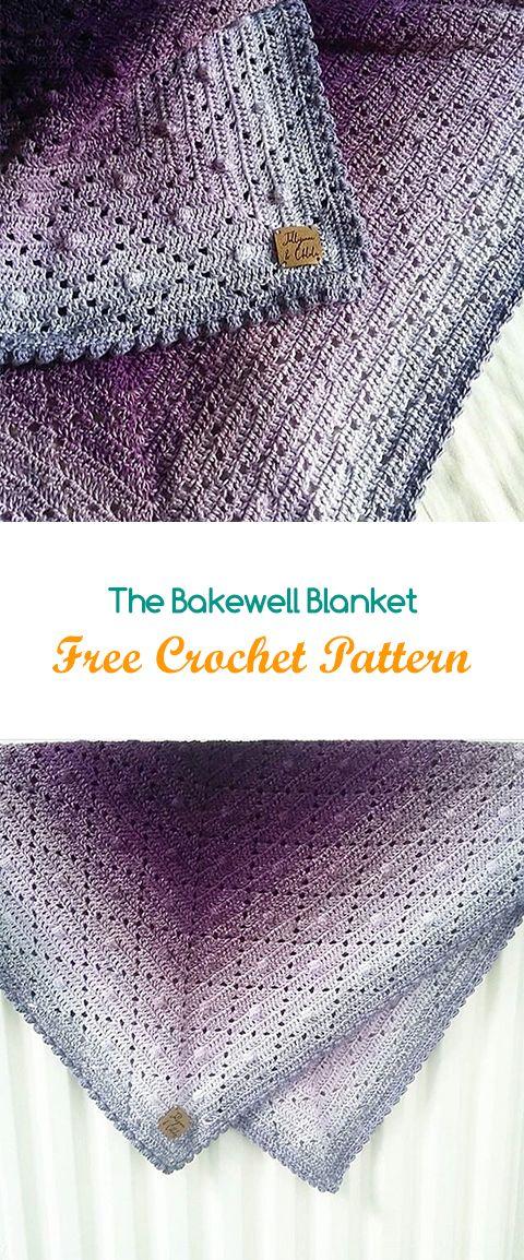 Pin de Katherine Bailey en Crochet | Pinterest | Manta, Chal y Ganchillo