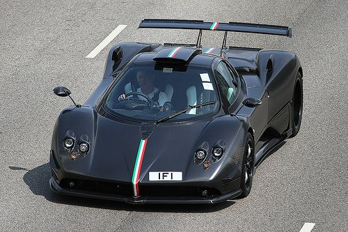 The Pagani Zonda Absolute is a special one-off edition Zonda ...