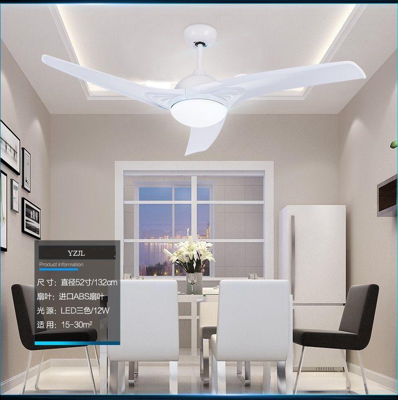 Simple 52inch modern chandelier fan light fan chandeliers new fan ...