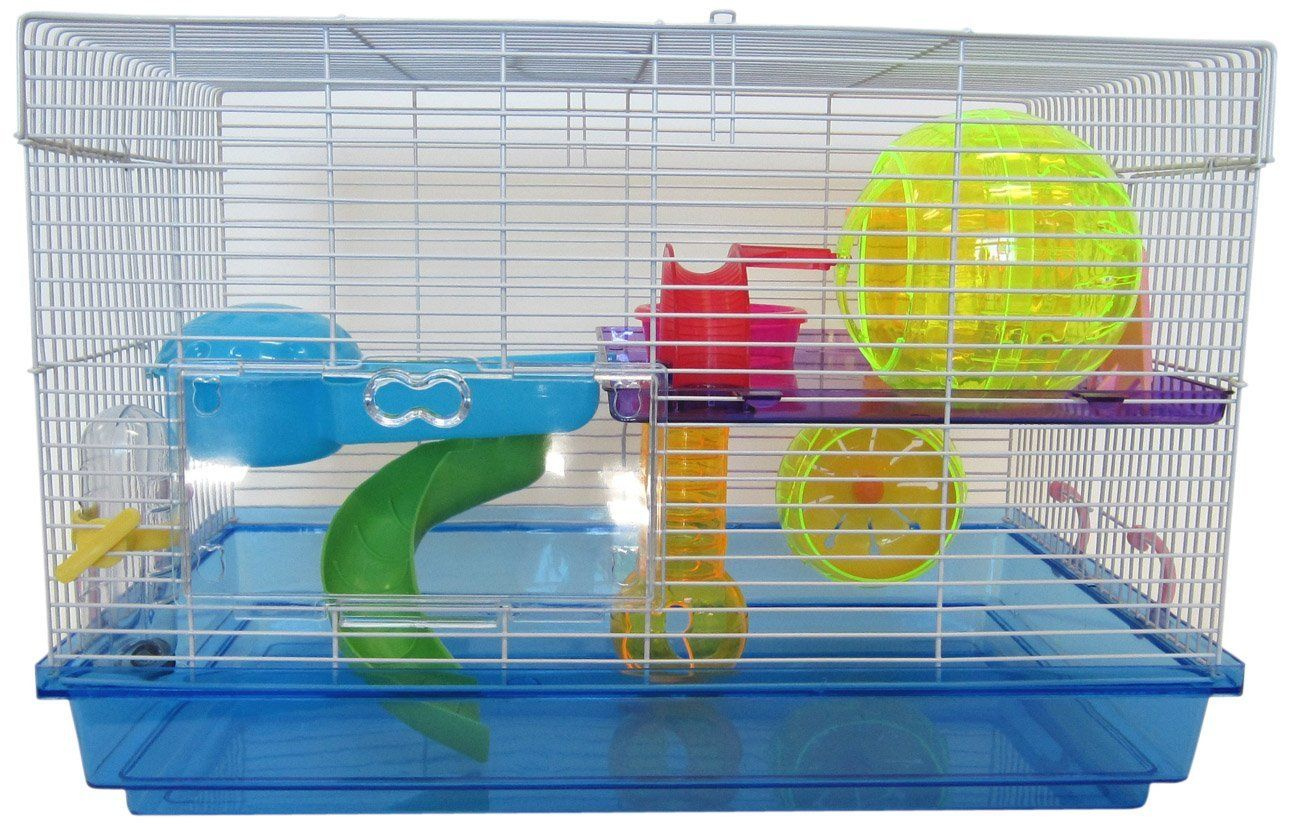 The Best Large Cages Accessories For Dwarf Hamsters Mouse Cage Plastic Hamster Cage