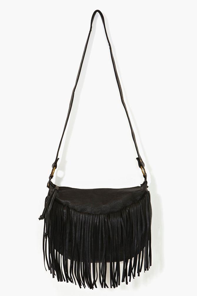 Desert Fringe Bag Black