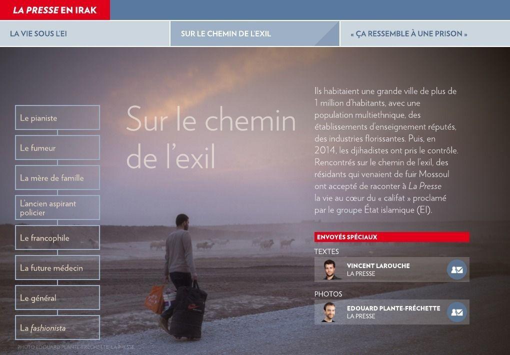 La vie sous l'EI - La Presse+
