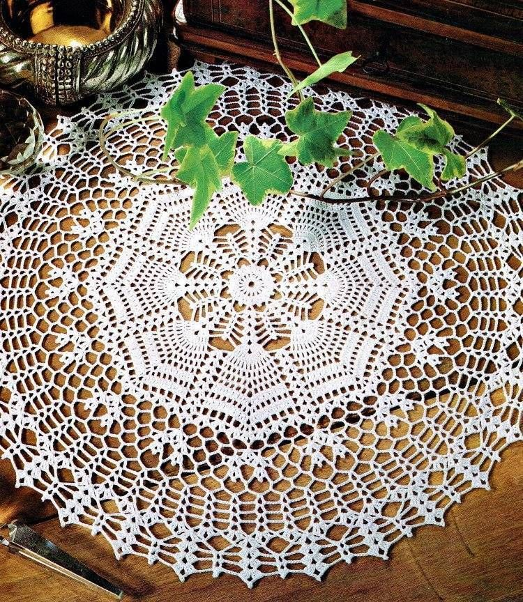 Ornamental Mat Doily Crochet Pattern Instructions #DecorativeCrochet ...