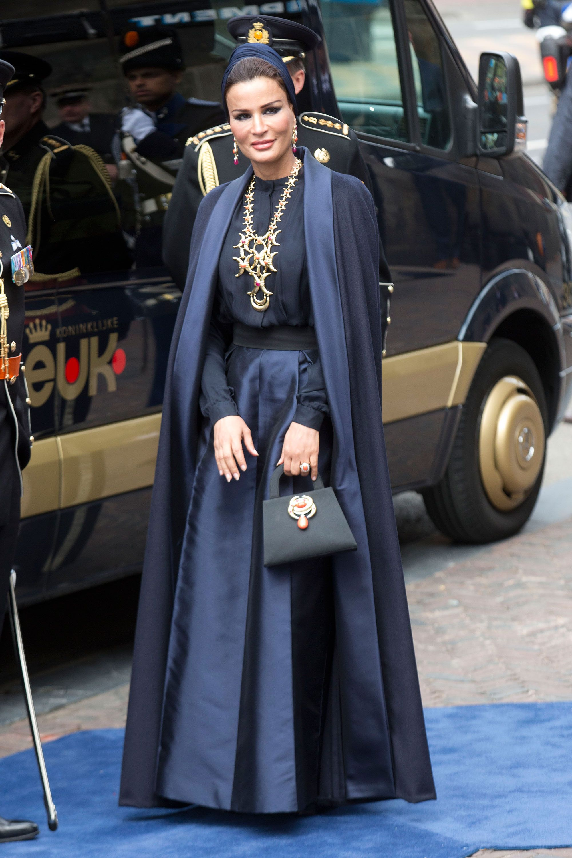 The 100 Most Stylish of 2014-Sheikha Mozah