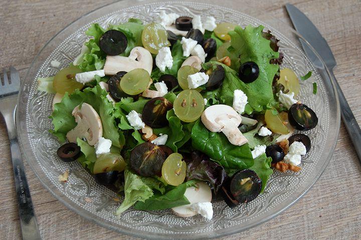 d licieuse salade d automne food pinterest salade. Black Bedroom Furniture Sets. Home Design Ideas
