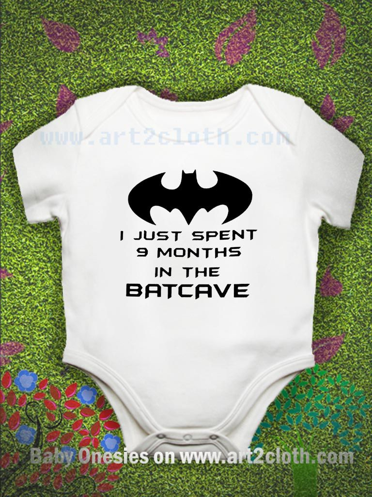f4a86c092 Funny Quote Batman Baby Onesie