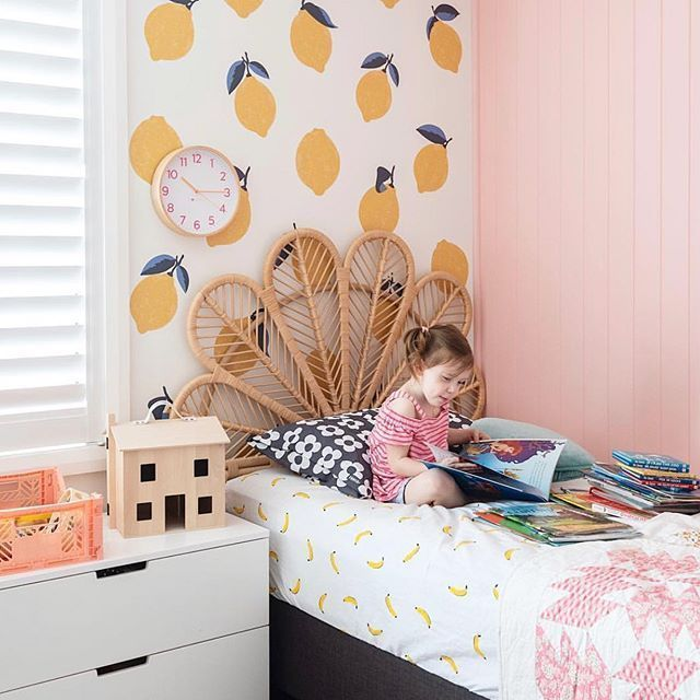 Cute little girls room featuring Olli Ella Holdie House