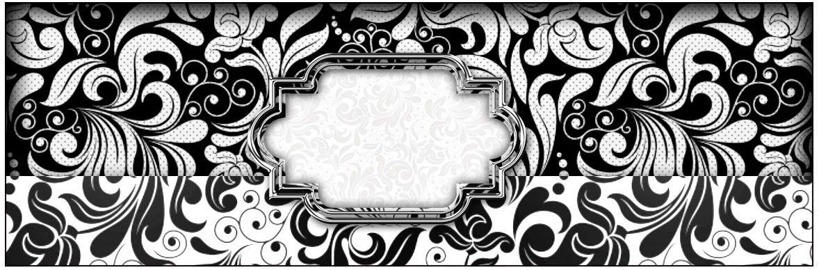 Blanco y Negro Etiquetas para Candy Bar para Imprimir Gratis http  www ohmyfiesta com 2014 08