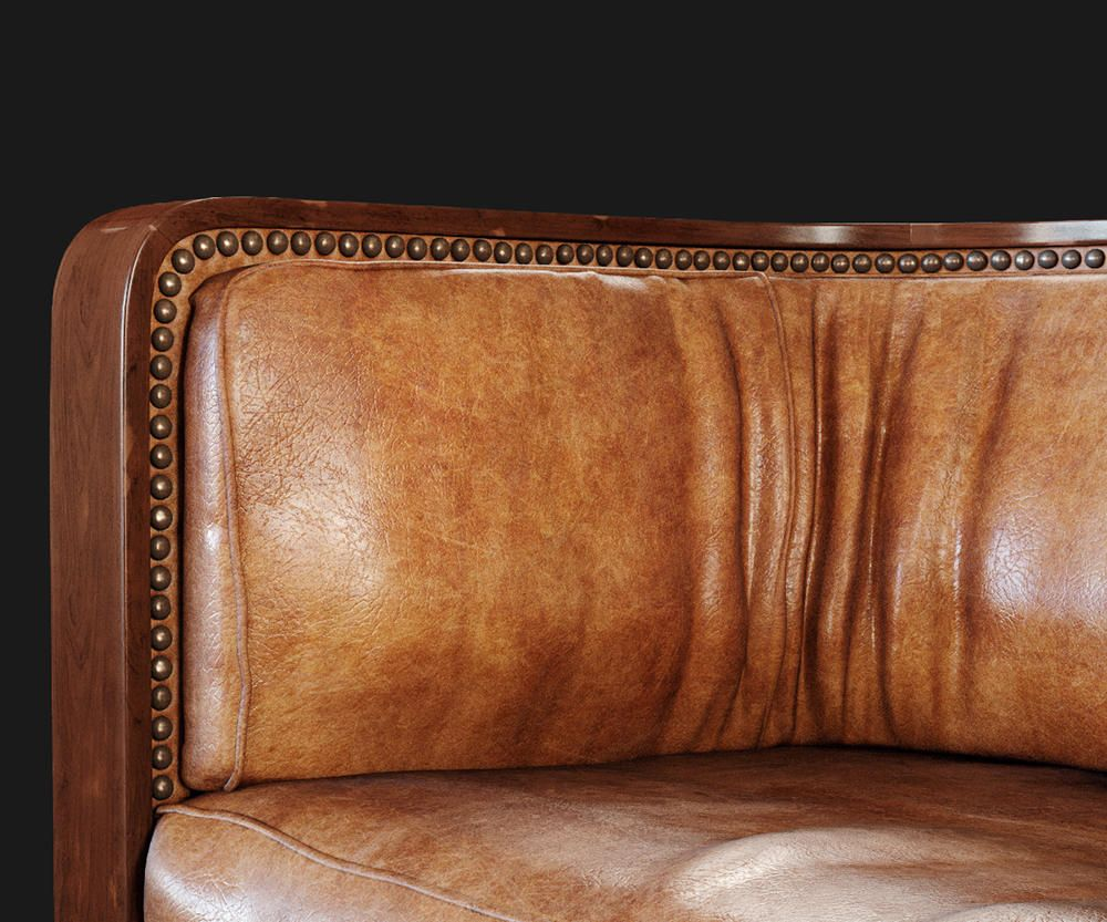 An exquisite #productvisulization of a high-end sofa for a ...