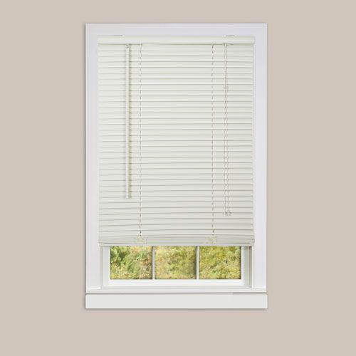 Deluxe Sundown Alabaster 64 X 32 Inch Blind Vinyl Blinds Blinds For Windows Blinds Design