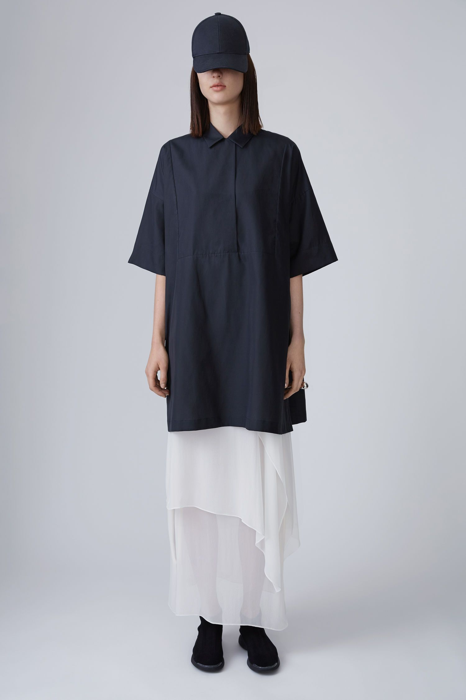 ACNE STUDIOS Sena Dry Pop   Black. #acnestudios #cloth #