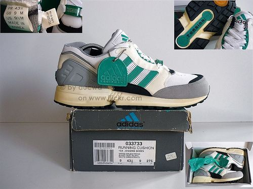 official photos 68946 424cd UNWORN 90`S VINTAGE ADIDAS EQUIPMENT RUNNING CUSHION SHOES