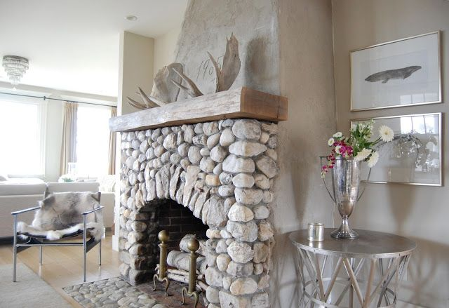 Decorated Mantel: Old Silver Shed   Fireplaces With Heart And Soul