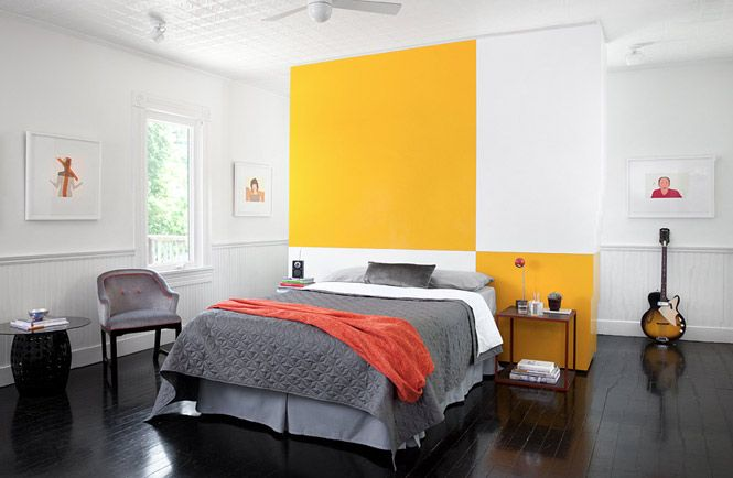 yellow grey bedroom Grey Bedroom Inspiration Pinterest Yellow