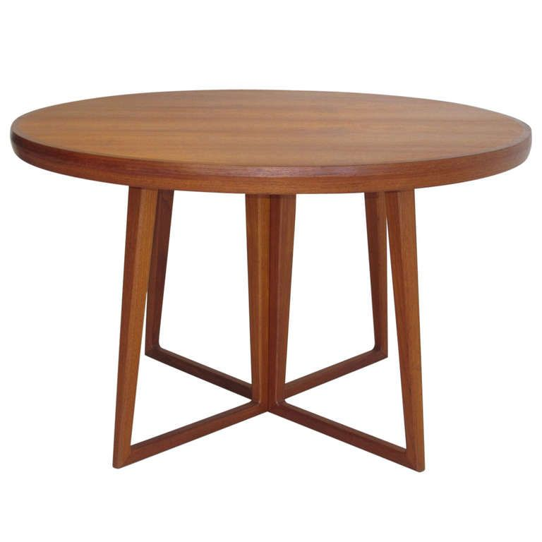 Arne Vodder Danish Teak Dining Table | Nice, Teak and Antiques