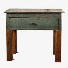 Vintage Repurposed Factory Desk