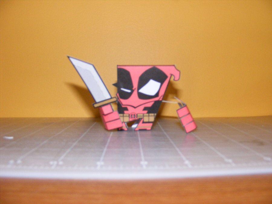 Deadpool by IdeatoPaperStudios.deviantart.com on @deviantART