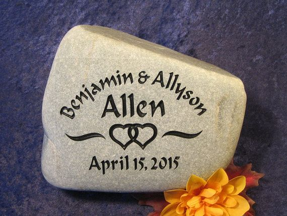 Engraved wedding anniversary gifts stones gifts for couples