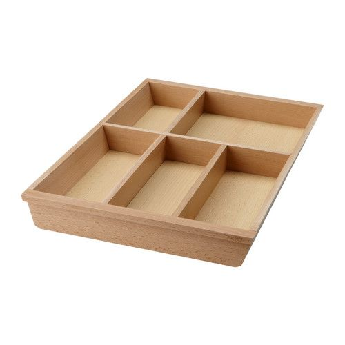 RATIONELL Cutlery tray basic unit IKEA Dimensioned for RATIONELL drawer 40 cm wide; makes maximum use of the space. (11)