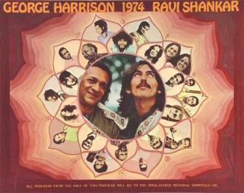 Beatles George Harrison 1974 CONCERT Tour  Program