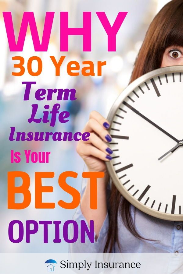 Best 30 Year Term Life Insurance Rates // (Plus Savings ...