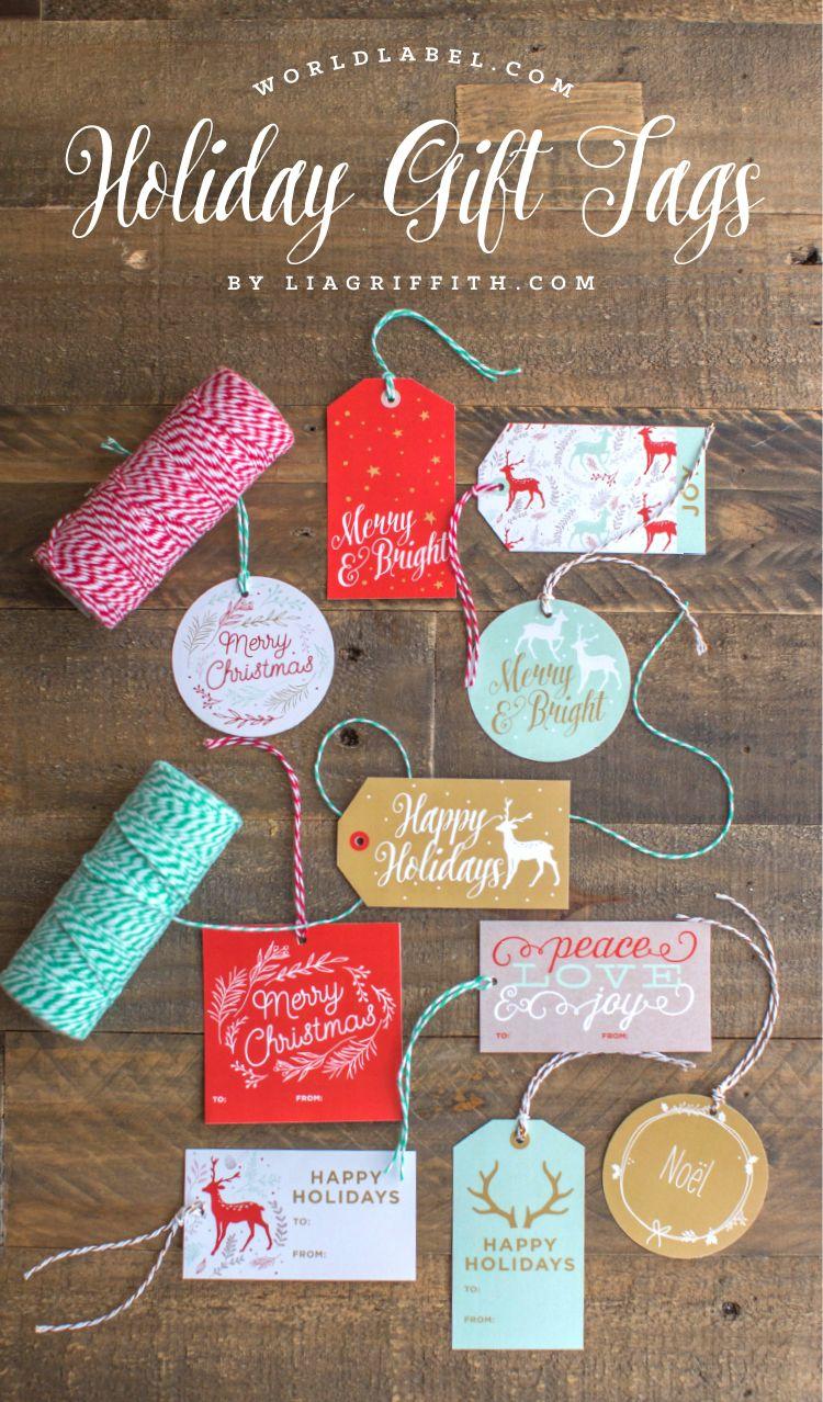 printable holiday gift labels cricut pinterest christmas