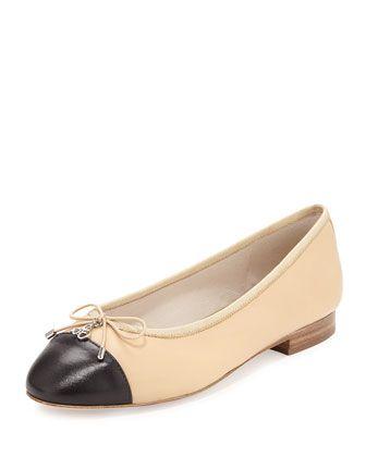 1fcf0718b Sara Cap-Toe Ballerina Flat