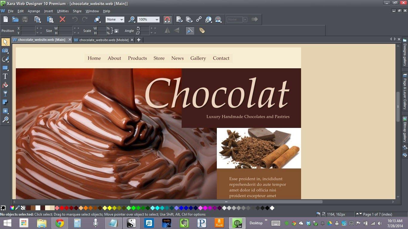 Xara Web Designer 10 Premium Review Web Design Premium Chocolate 10 Things