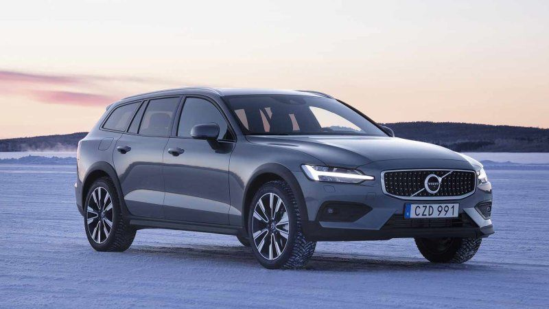 2019 Volvo V90 Cross Country Review A Plush Adventure Wagon Volvo Cross Country Volvo Logo