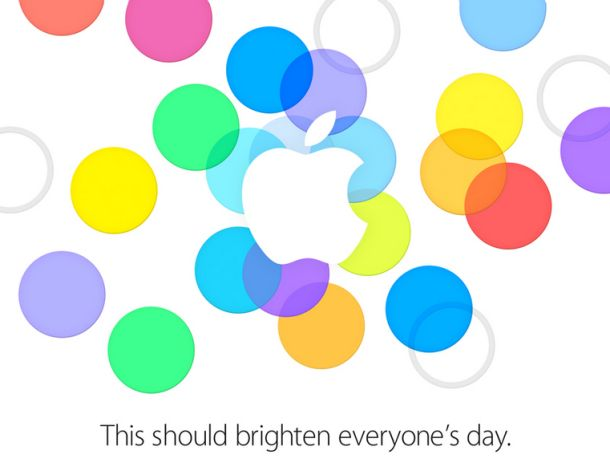 20130910 Apple Media Day Invitation 애플쵸대장 ㅎㅎ