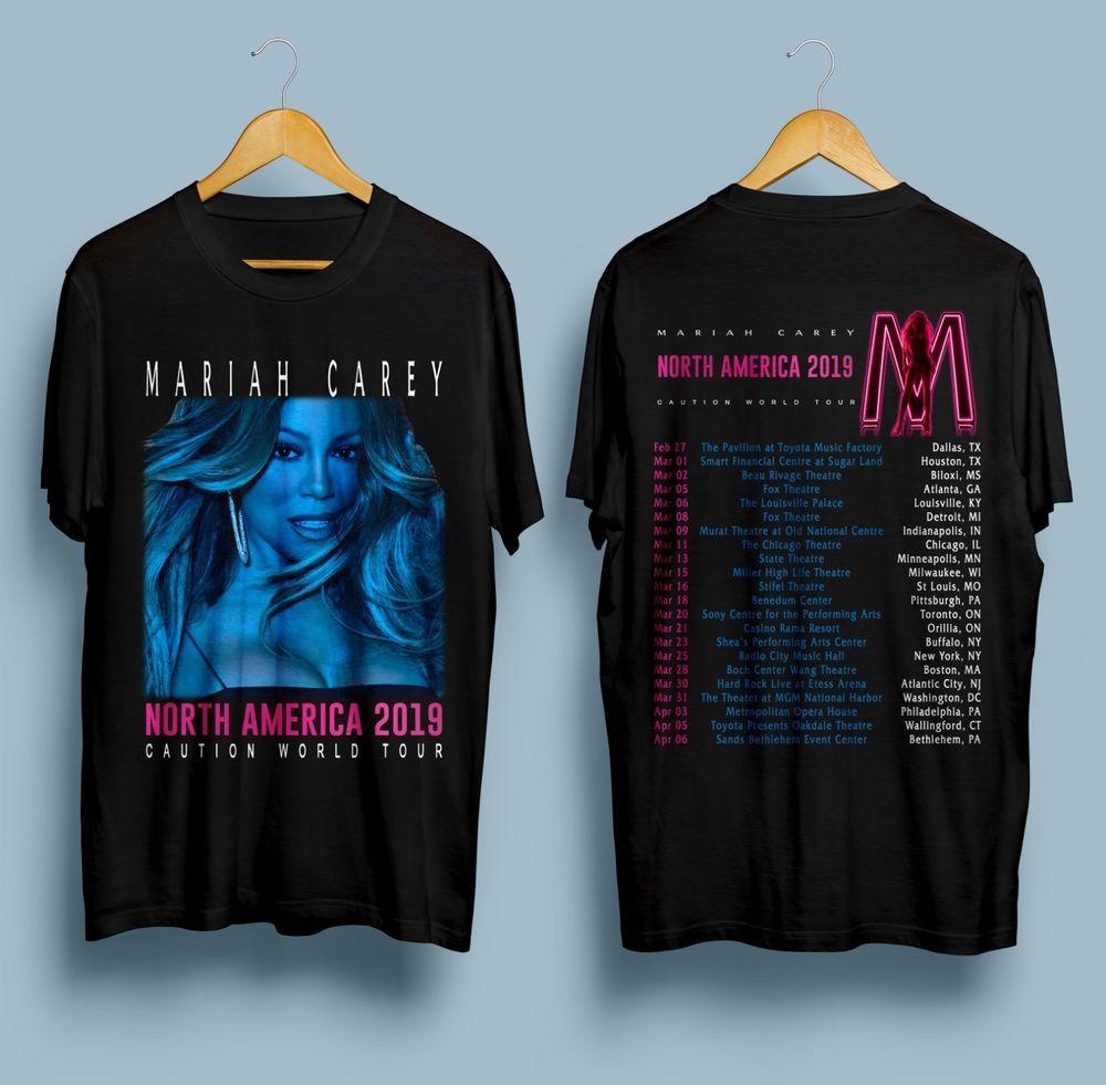 b8e179bf8fc9 New Mariah Carey Caution World Tour North America 2019 Gildan T Shirt S -  2XL  fashion  clothing  shoes  accessories  mensclothing  shirts (ebay link)