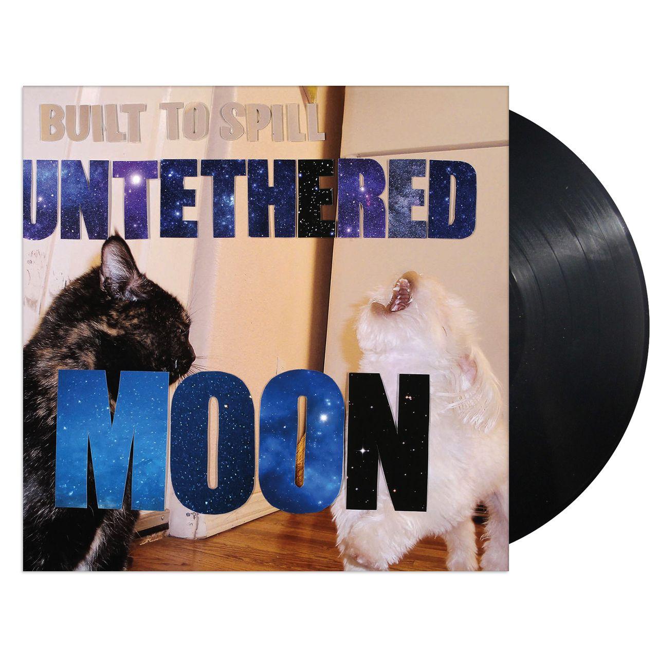 Lazy Labrador Records Built To Spill Untethered Moon Vinyl Lp Black 19 89 Http Lazylabradorrecords Com Built Built To Spill Record Store Lp Vinyl