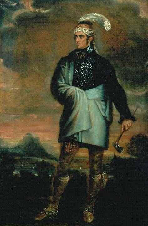 Mohawk Chief John Norton Teyoninhokarawen The Snipe Born In