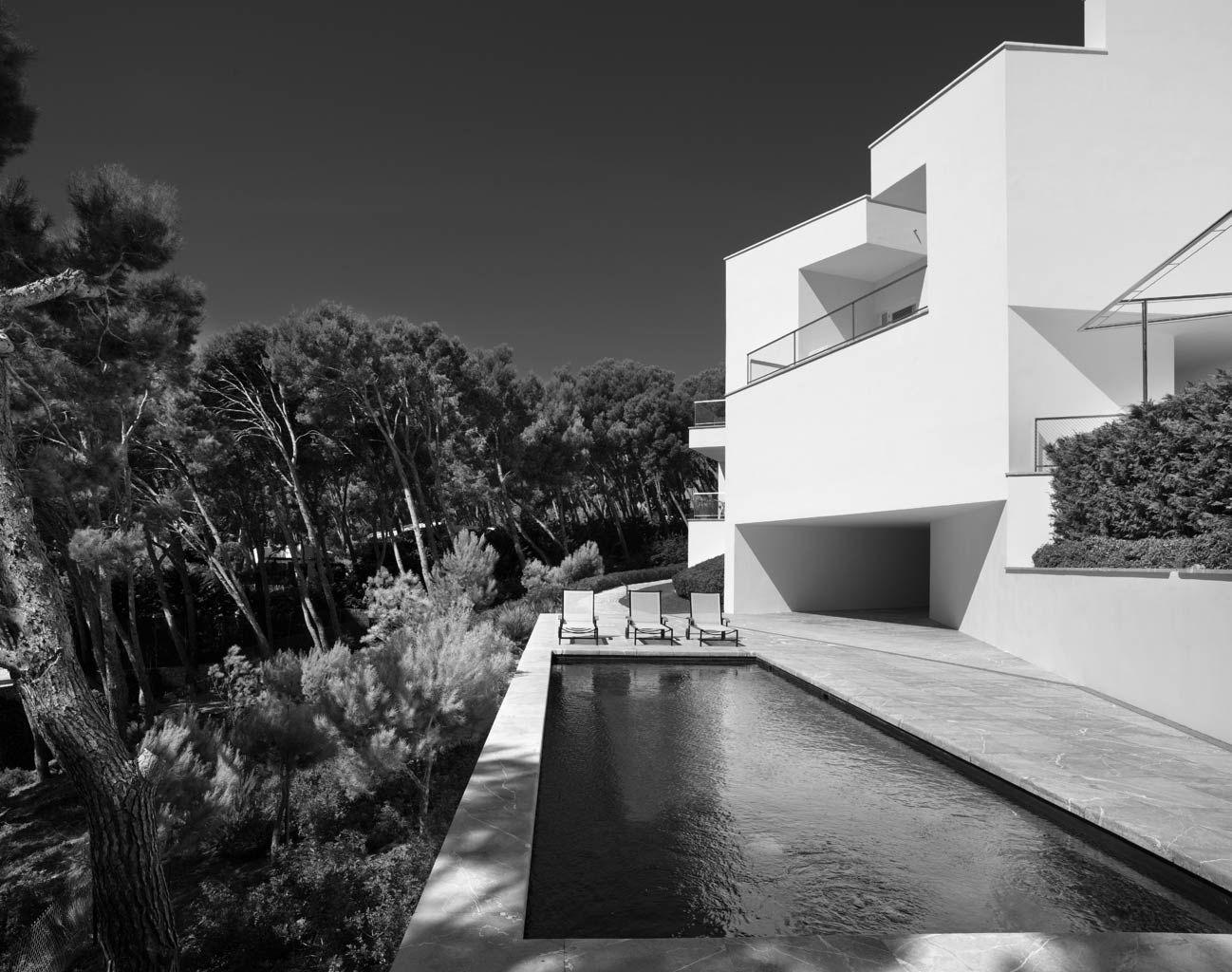 Villa en Mallorca Álvaro Siza Arquitectura fotografia